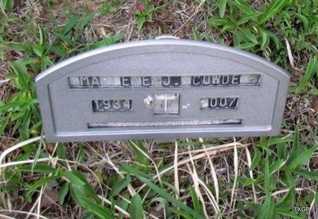 COWDEN, MARLENENE J - Canadian County, Oklahoma | MARLENENE J COWDEN - Oklahoma Gravestone Photos