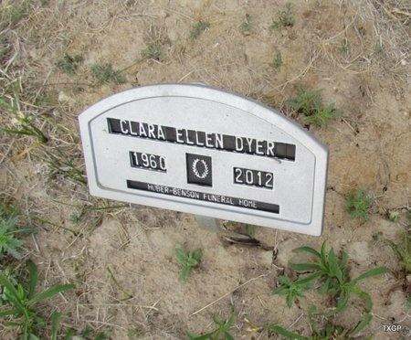 DYER, CLARA ELLEN - Canadian County, Oklahoma | CLARA ELLEN DYER - Oklahoma Gravestone Photos
