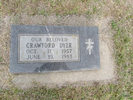 DYER, CRAWFORD - Canadian County, Oklahoma | CRAWFORD DYER - Oklahoma Gravestone Photos