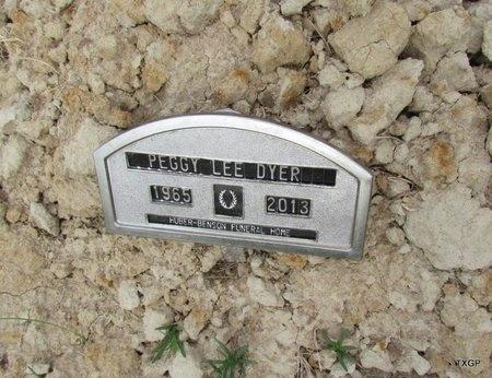 DYER, PEGGY LEE - Canadian County, Oklahoma | PEGGY LEE DYER - Oklahoma Gravestone Photos