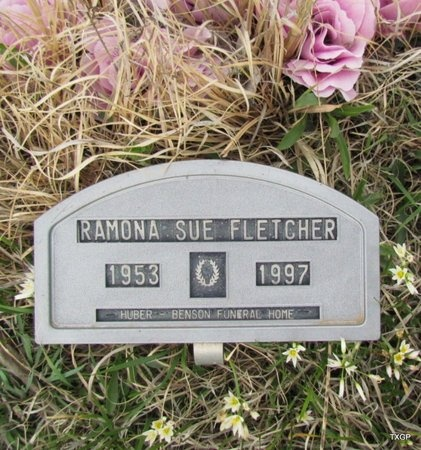 FLETCHER, RAMONA SUE - Canadian County, Oklahoma | RAMONA SUE FLETCHER - Oklahoma Gravestone Photos