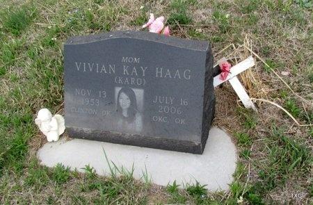 HAGG, VIVIAN KAY - Canadian County, Oklahoma   VIVIAN KAY HAGG - Oklahoma Gravestone Photos