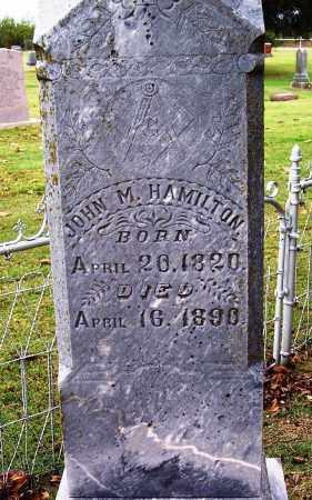 HAMILTON, JOHN M - Canadian County, Oklahoma | JOHN M HAMILTON - Oklahoma Gravestone Photos