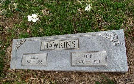 HAWKINS, KATIE - Canadian County, Oklahoma | KATIE HAWKINS - Oklahoma Gravestone Photos