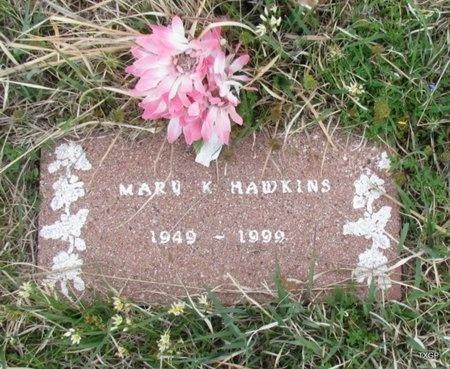 HAWKINS, MARY K - Canadian County, Oklahoma   MARY K HAWKINS - Oklahoma Gravestone Photos