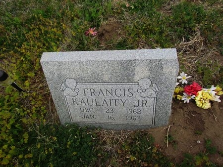 KAULAITY, JR, FRANCIS - Canadian County, Oklahoma | FRANCIS KAULAITY, JR - Oklahoma Gravestone Photos