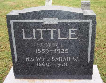 LITTLE, ELMER - Canadian County, Oklahoma | ELMER LITTLE - Oklahoma Gravestone Photos