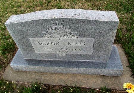 NIBBS, MARTIN - Canadian County, Oklahoma | MARTIN NIBBS - Oklahoma Gravestone Photos