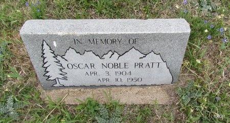 PRATT, OSCAR NOBLE - Canadian County, Oklahoma   OSCAR NOBLE PRATT - Oklahoma Gravestone Photos