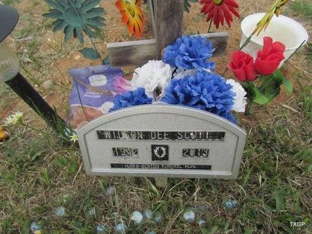 SCOTT, WILSON DEE - Canadian County, Oklahoma | WILSON DEE SCOTT - Oklahoma Gravestone Photos