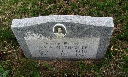 SHAWNEE, CLARA H - Canadian County, Oklahoma | CLARA H SHAWNEE - Oklahoma Gravestone Photos