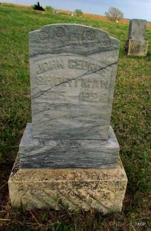 SHORTNOSE, JOHN GEORGE - Canadian County, Oklahoma | JOHN GEORGE SHORTNOSE - Oklahoma Gravestone Photos