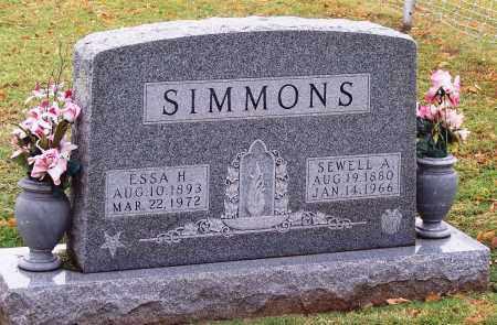 SIMMONS, ESSA H - Canadian County, Oklahoma | ESSA H SIMMONS - Oklahoma Gravestone Photos
