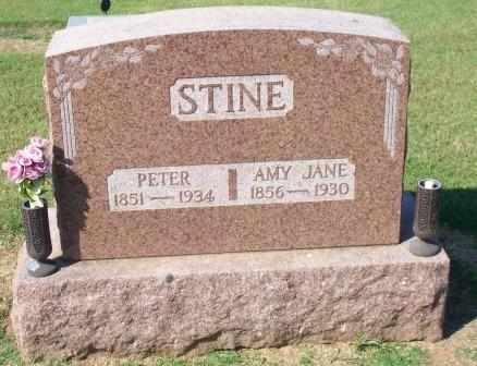HARPER STINE, AMY JANE - Canadian County, Oklahoma | AMY JANE HARPER STINE - Oklahoma Gravestone Photos