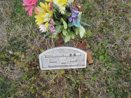 STONE, UNREADABLE - Canadian County, Oklahoma | UNREADABLE STONE - Oklahoma Gravestone Photos
