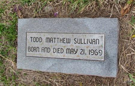 SULLIVAN, TODD MATTHEW - Canadian County, Oklahoma | TODD MATTHEW SULLIVAN - Oklahoma Gravestone Photos