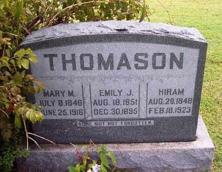 THOMASON, EMILY J - Canadian County, Oklahoma | EMILY J THOMASON - Oklahoma Gravestone Photos