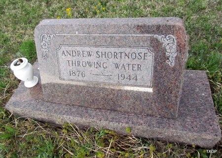 THROWINGWATER, ANDREW SHORTNOSE - Canadian County, Oklahoma | ANDREW SHORTNOSE THROWINGWATER - Oklahoma Gravestone Photos