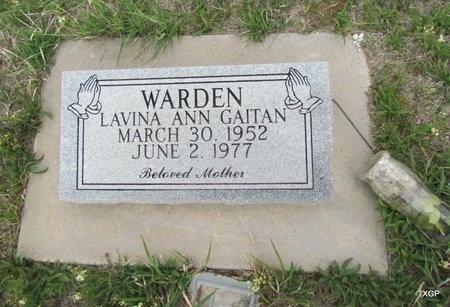 WARDEN, LAVINA ANN - Canadian County, Oklahoma | LAVINA ANN WARDEN - Oklahoma Gravestone Photos