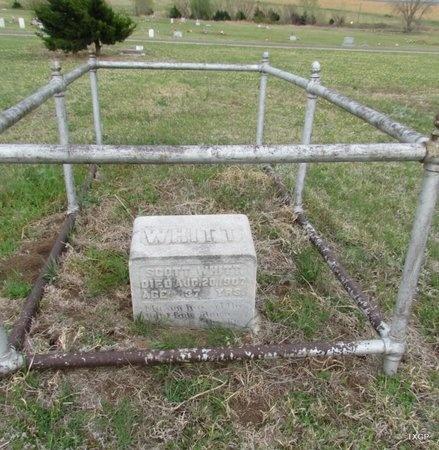 WHITT, SCOTT - Canadian County, Oklahoma   SCOTT WHITT - Oklahoma Gravestone Photos