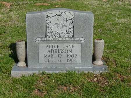 ADKISSON, AUDIE JANE - Cherokee County, Oklahoma   AUDIE JANE ADKISSON - Oklahoma Gravestone Photos