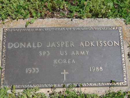 ADKISSON (VETERAN KOREA), DONALD JASPER - Cherokee County, Oklahoma | DONALD JASPER ADKISSON (VETERAN KOREA) - Oklahoma Gravestone Photos