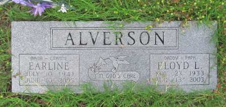 ALVERSON, EARLINE - Cherokee County, Oklahoma | EARLINE ALVERSON - Oklahoma Gravestone Photos