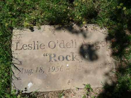 "ANGEL, LESLIE O'DELL ""ROCKY"" - Cherokee County, Oklahoma | LESLIE O'DELL ""ROCKY"" ANGEL - Oklahoma Gravestone Photos"