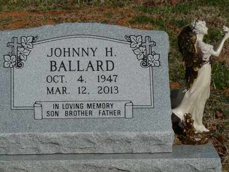 BALLARD, JOHNNY H - Cherokee County, Oklahoma | JOHNNY H BALLARD - Oklahoma Gravestone Photos