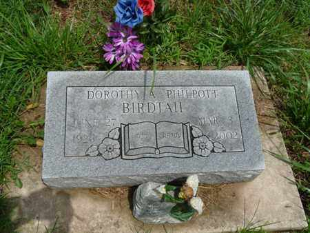 BIRDTAIL, DOROTHY A - Cherokee County, Oklahoma | DOROTHY A BIRDTAIL - Oklahoma Gravestone Photos