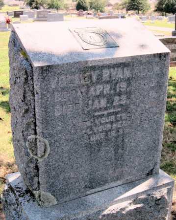 BOON, VOLNEY RYAN - Cherokee County, Oklahoma | VOLNEY RYAN BOON - Oklahoma Gravestone Photos