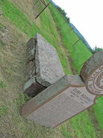 BOUDINOT, ELIAS  (BACK) - Cherokee County, Oklahoma | ELIAS  (BACK) BOUDINOT - Oklahoma Gravestone Photos