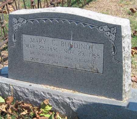 BOUDINOT, MARY CAROLINE - Cherokee County, Oklahoma | MARY CAROLINE BOUDINOT - Oklahoma Gravestone Photos