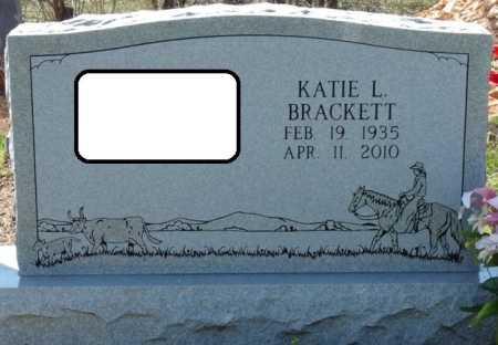 BRACKETT, KATIE L - Cherokee County, Oklahoma | KATIE L BRACKETT - Oklahoma Gravestone Photos