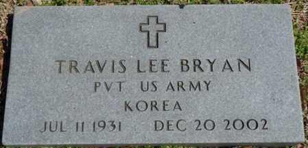BRYAN (VETERAN KOREA), TRAVIS LEE - Cherokee County, Oklahoma | TRAVIS LEE BRYAN (VETERAN KOREA) - Oklahoma Gravestone Photos