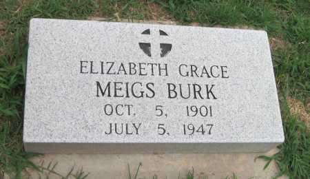 BURK, ELIZABETH GRACE - Cherokee County, Oklahoma | ELIZABETH GRACE BURK - Oklahoma Gravestone Photos