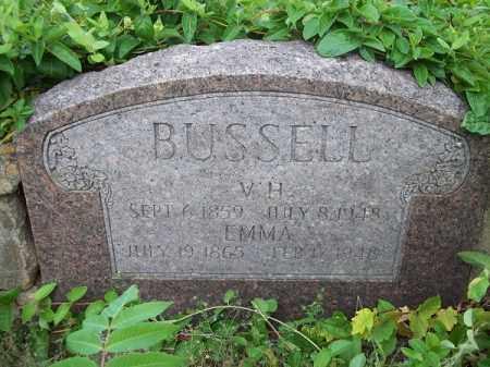 BUSSELL, V H - Cherokee County, Oklahoma   V H BUSSELL - Oklahoma Gravestone Photos