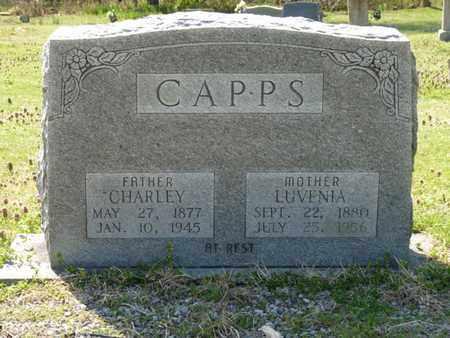 CAPPS, LUVENIA - Cherokee County, Oklahoma | LUVENIA CAPPS - Oklahoma Gravestone Photos