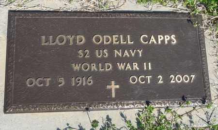 CAPPS (VETERAN WWII), LLOYD ODELL - Cherokee County, Oklahoma | LLOYD ODELL CAPPS (VETERAN WWII) - Oklahoma Gravestone Photos