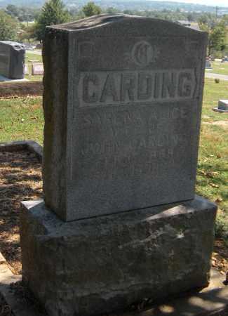 CARDING, SARENA ALICE - Cherokee County, Oklahoma | SARENA ALICE CARDING - Oklahoma Gravestone Photos