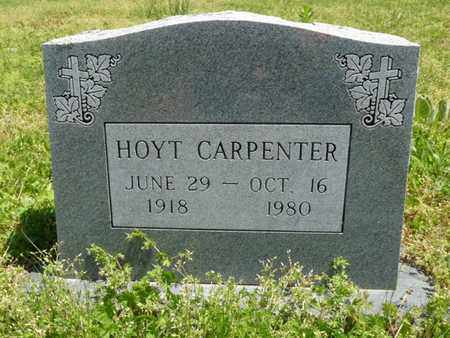 CARPENTER, HOYT - Cherokee County, Oklahoma | HOYT CARPENTER - Oklahoma Gravestone Photos