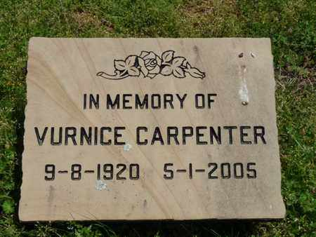 CARPENTER, VURNICE - Cherokee County, Oklahoma | VURNICE CARPENTER - Oklahoma Gravestone Photos