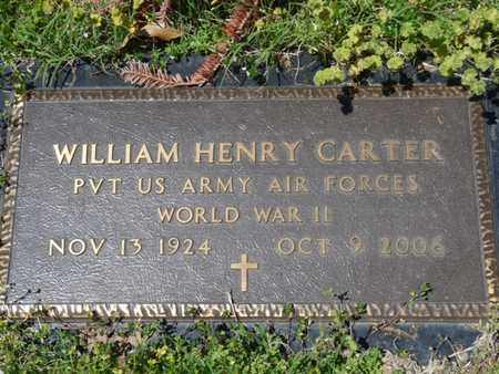 CARTER (VETERAN WWII), WILLIAM HENRY - Cherokee County, Oklahoma   WILLIAM HENRY CARTER (VETERAN WWII) - Oklahoma Gravestone Photos