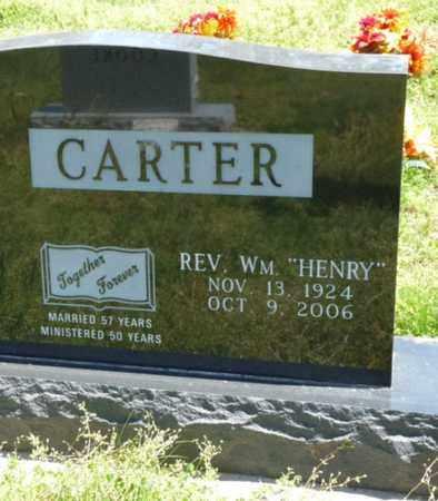 CARTER, WILLIAM HENRY - Cherokee County, Oklahoma | WILLIAM HENRY CARTER - Oklahoma Gravestone Photos