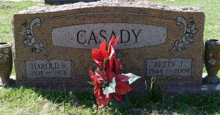 CASADY, HAROLD S - Cherokee County, Oklahoma | HAROLD S CASADY - Oklahoma Gravestone Photos