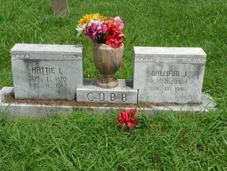 COBB, WILLIAM J - Cherokee County, Oklahoma | WILLIAM J COBB - Oklahoma Gravestone Photos