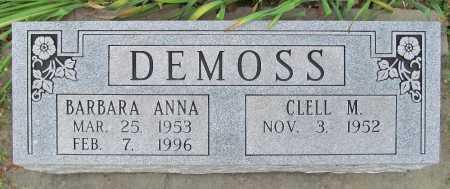 DEMOSS, BARBARA ANNA - Cherokee County, Oklahoma | BARBARA ANNA DEMOSS - Oklahoma Gravestone Photos