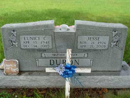 DURON, EUNICE C - Cherokee County, Oklahoma | EUNICE C DURON - Oklahoma Gravestone Photos