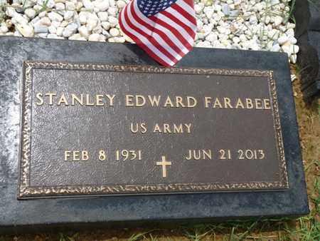 FARABEE (VETERAN), STANLEY EDWARD - Cherokee County, Oklahoma | STANLEY EDWARD FARABEE (VETERAN) - Oklahoma Gravestone Photos