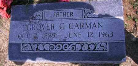 GARMAN, GROVER C - Cherokee County, Oklahoma | GROVER C GARMAN - Oklahoma Gravestone Photos